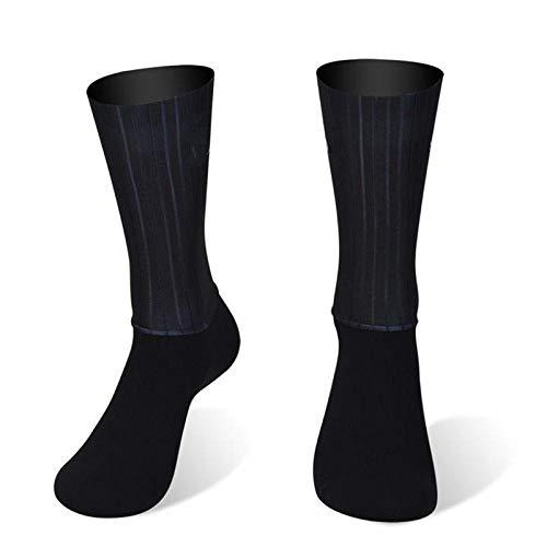 BLOMDE Calcetines Calcetines Deportivos Antideslizantes De Silicona Para Verano Aero White Line