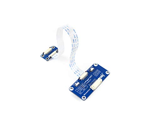 Waveshare Universal e-Paper Driver HAT Supports Various Waveshare SPI E-Paper Raw Panels Compatible with Raspberry Pi 2B 3B Zero Zero W