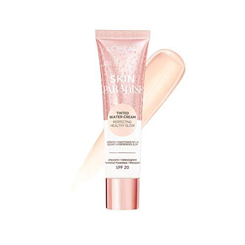 L'Oréal Paris Getönte Tagespflege mit leichter Deckkraft, Feuchtigkeitsspendende BB Cream, Skin Paradise, Nr. 02 Fair, 1 x 30 ml