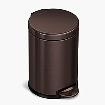 Best bronze bathroom trash can Reviews