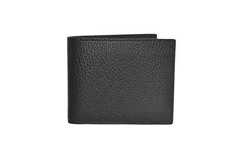 Gucci Men's Black Leather Bifold Wallet 260987 001147