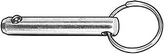 Gl Huyett Cotterless Steel Ring Pin, C1144 Grade, 1/2