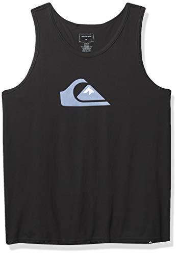 Quiksilver Men's COMP Logo Tank, Black, M