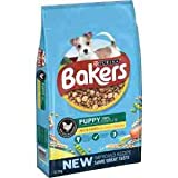 Bakers Puppy 100% Dry Dog Food, Rich in Chicken with Country Vegetables, 12.5kg