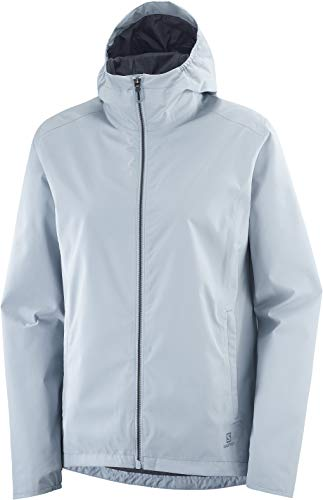 Salomon Damen Standard Shell Jacke, Ashley Blue 2XL