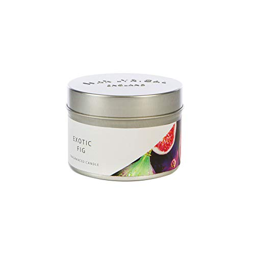 WAX LYRICAL Fragranced Candle Tin Exotic Fig, Burn Time Approx 20 Hours