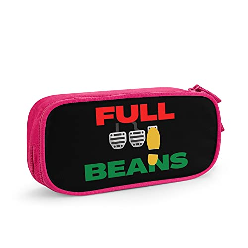 Frieneo Large-Capacity Pencil case Full Beans Multifunctional Pencil case, Stationery Storage Bag, Cosmetic Bag, Suitable for School College Office Pink