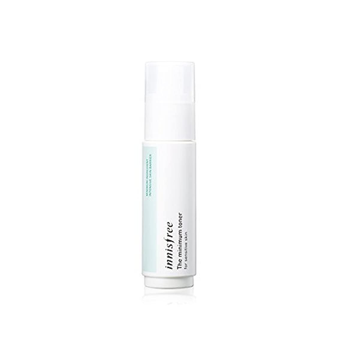 確保する回復精神Innisfree The Minimum Toner For Sensitive Skin [並行輸入品]