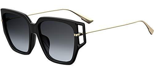 Dior Damen DIRECTION3F-807 Sonnenbrille, Black, 58/16/145