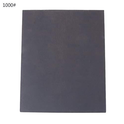 100pcs Wasserfest Sandpapier 80//180//240// 400//800//1200// 2000//3000//5000//