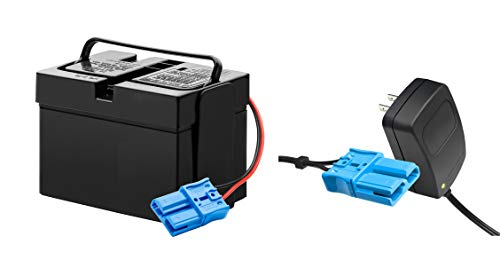 12V Battery and Charger Combo Set for Kid Trax Battery Dodge Viper VW Beetle Dodge Police Car Mecerdes ML63 Child Ride On Car