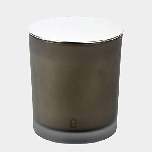 Lambert - Duftkerze, Kerze - Emilia - im Glas - mit Deckel - Farbe: Rauch - H10 cm - D9 cm
