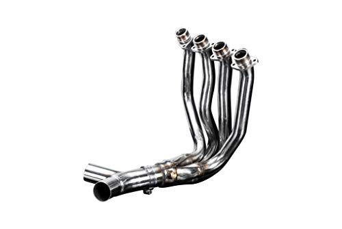 Delkevic Aftermarket Stainless Steel 4-2 Header compatible with Kawasaki ZX-14R (2012-2019)