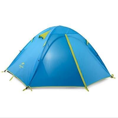 NatureHike ultraléger 2/3 places en plein air Tente de camping Kit – Bleu, bleu