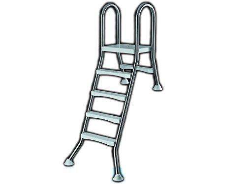 Ideal Eichenwald zwembadladder hoge badladder zwembadladder roestvrijstalen ladder ladder 1,2/0,4m