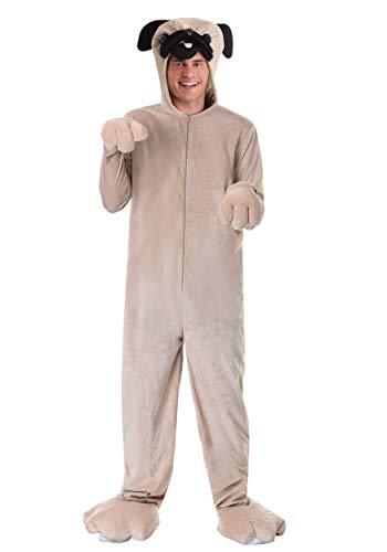 Adult Pug Costume Small