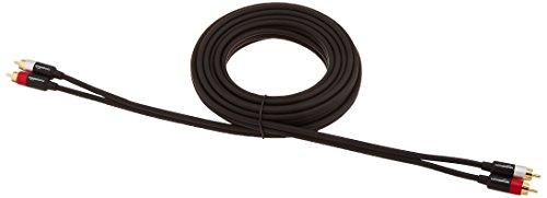 Amazon Basics - Cable de audio RCA (2 machos a 2 machos), 4.57 m