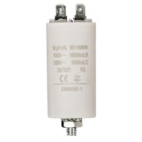 Condensador arranque motor electrico (10.0 uF)