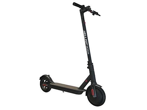 Helliot Design Matrix HD Elektrische scooter, opvouwbaar, voor volwassenen, uniseks, zwart, eenheidsmaat