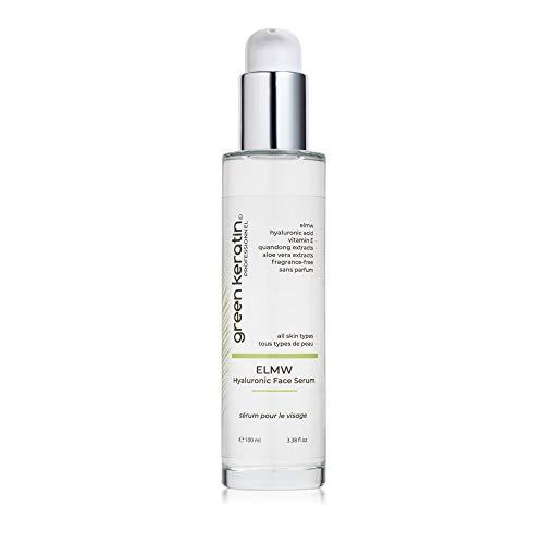 Green Keratin ELMW Acide Hyaluronique Sérum Visage (ELMW (Sans Parfum))