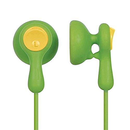 Panasonic RP-HV41E-G Ohr-Hörer (1,1 m Kabel, 3,5 mm Stecker, Easy Clip) grün