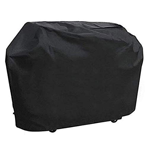 ONMIER Grill Cover, 57 inch Oxford Fabric BBQ Cover Waterproof & Dust-Proof & Anti-UV, Gas Grill Cover for Outdoor, Garden Patio Grill Protector (145CM /57 inch)