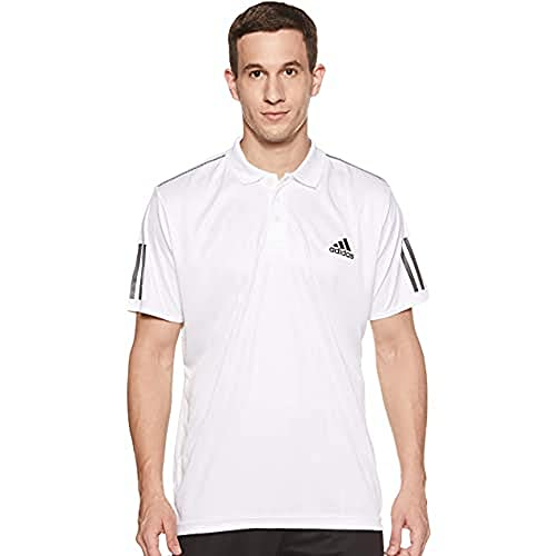 adidas Polo Club 3str pour Homme XS Maruni/Blanco