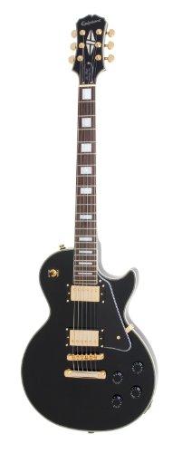 Epiphone Les Paul Custom PRO - Guitarra eléctrica, color ebony