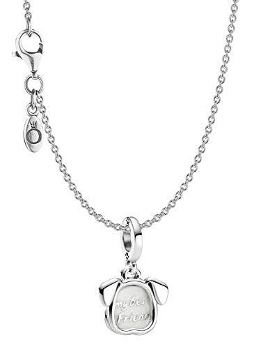 Pandora Damen-Halskette Mein Haustier Hund Silber eleganter Halsschmuck, wunderschönes Geschenk-Set für modische Frauen, 39805