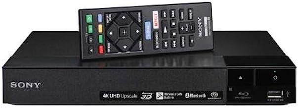 Sony BDP-S6700 Multi Region Blu-ray DVD Region Free Player 110-240 Volts; Dynastar HDMI Cable & Dynastar Plug Adapter Pack...