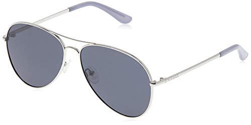 Guess Sunglasses Gu6925 10D 58 Gafas de sol, Plateado (Silber), Unisex Adulto