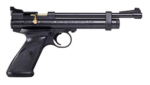 Crosman 2240 Bolt Action Single-Shot CO2-Powered .22-Caliber Air Pistol , Black