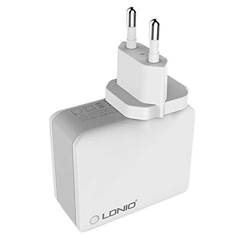 hook.s voor LDNIO Adenium A4403 5V / 4.4A 22W 4-poort, universele USB-lader snellader, reislader
