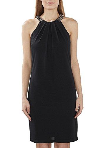 ESPRIT Collection Damen Kleid 027EO1E030, Schwarz (Black 001), 36 (Herstellergröße: S)