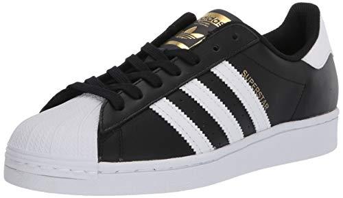 adidas Originals Superstar Damen Sneaker, Schwarz (schwarz/weiß/schwarz), 36.5 EU