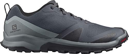 Salomon Herren Trail-Running-Schuhe, XA COLLIDER, Farbe: Grau (Ebony/Black/Stormy Weather), Größe: EU 44
