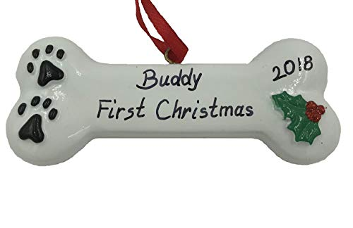 Personalized First Christmas Dog Christmas Ornament 2020