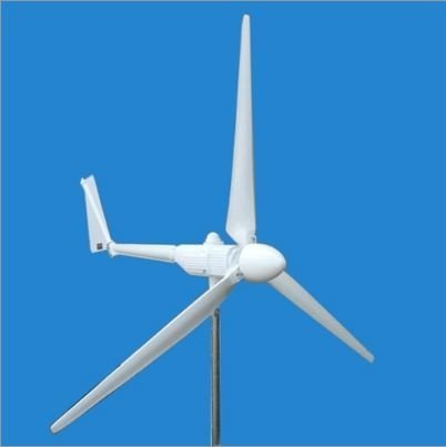 2000 Watt 3 Blade Wind Turbine with Charge Controller and Power Inverter by Aleko