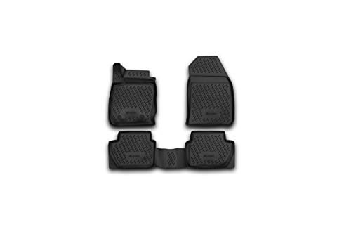 Element EXP.ELEMENT1684B13 Tailored Custom Fit Rubber Boot Liner Protector Mat-Ford EcoSport SUV 2018 Black