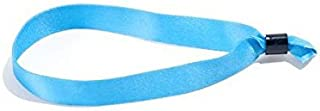 Cloth Event Wristbands - Secure and Stylish Admission Band for Events by myZone Printing (100, Blue)