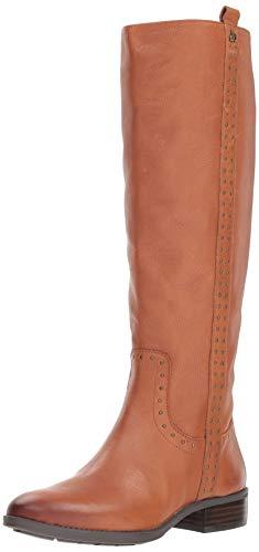 Sam Edelman Women's Prina Knee High Boot, Whiskey Leather, 5 M US