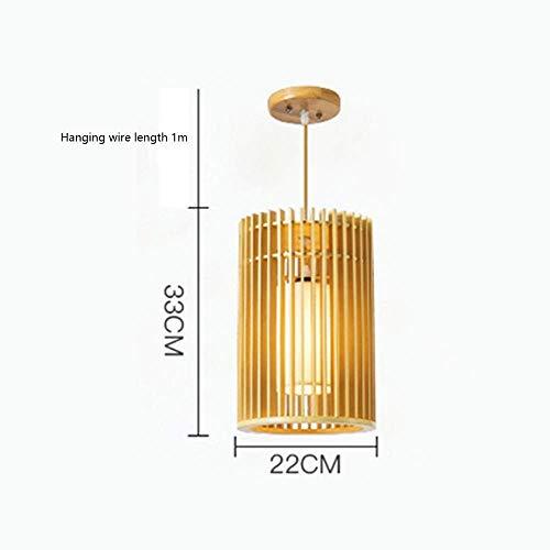 WZC Lámpara Colgante de Araña Decorativa de Madera, Lámpara Colgante de Luz Creativa Lámpara Moderna Lámpara Colgante de Interior Lámpara Colgante Adecuada para Sala de Restaurante