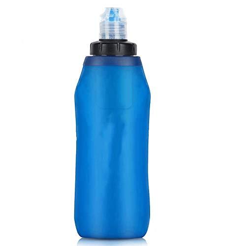 Bolsa de Agua de Filtro Plegable, luz, Suave y fácil de Transportar, Utilizada para Practicar Senderismo, Camping, mochilero, Supervivencia Salvaje, Rescate al Aire Libre y situaciones de Emergencia