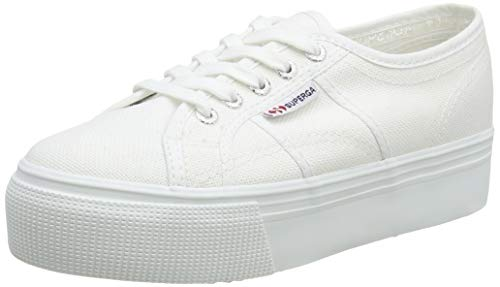 Superga 2790Cotw Linea Up And Down, Zapatillas Unisex adulto, Blanco (901 White), 37 EU