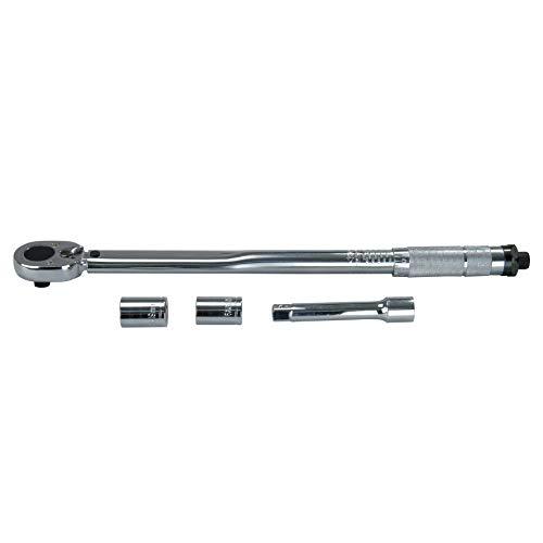Cartrend 146002 Drehmomentschlüssel mit Nüssen 17/19 mm