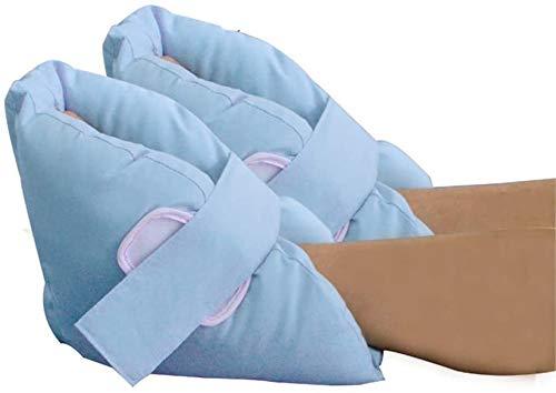 QAZXCV Anti-Escarre Talon Protecteurs d'oreiller - Protection des Pieds Cheville Coussins Protectors Lit Talon Sores Coussins pour Pressute Plaies et