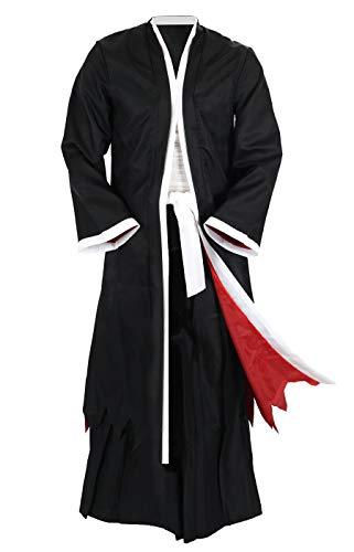 CoolChange disfraz Bankai de Ichigo Kurosaki de Bleach. Talla: XXL