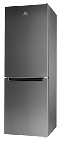 Indesit LI8FF2IX Freestanding Acero inoxidable