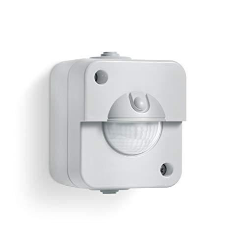 Steinel Bewegungsmelder IR 180 AP easy, Aufputz Sensorschalter, 180° Erfassung, Dämmerunsgsensor, LED geeignet, 2-und 3-Draht Montage, 200 W, 240 V