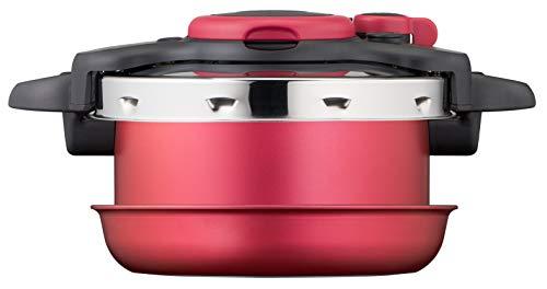 Tefal Ingenio All-In-One - Batería de cocina 8P, cacerola antiadherente, cacerola de acero inoxidable, cesta de vapor, tapas, asa, fieltrinas, 7 estilos de cocción, sano, apilable, inducción P4704200